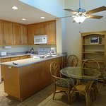 Pleasant and spacious kitchen/dining area