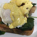 Great food fresh Eggs Benedict  Great customer service you will not be disappointed