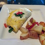 Petite omelette: Made to order with choice of meats, veggies & cheeses.