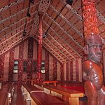 Waitangi treaty house interior