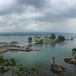 View of Coconut Island from Hilo Hawaiian