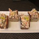 Alaskan Crab Rolls as an Entree