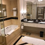 Bathroom of the Strip View Suite