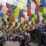 One of the streets of Thamel