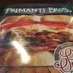 Primanti Brothers (menu).