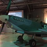 One of the planes in the hangar on display. It does fly and is used on their open fly events.