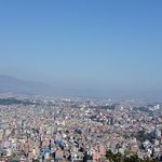 View from top of Kathmandu city