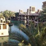 Outside the Souk Al Bahar looking down.