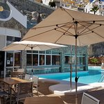 Enjoy delicious food, relax in the sun or have a dip in the pool at no extra costs