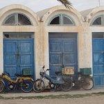 Photo au Port de Djerba pendant la visite du premier jour