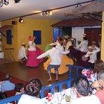 Folk-dancing