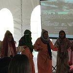 Dance presentation of staff