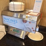 Gotta love the pancake machine!