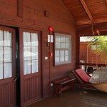 Outside our cabana