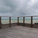 Balkon über dem Meer