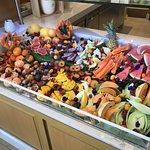 Fresh fruit counter