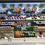 Sushi counter