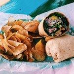 Mahi Mahi Fish wrap