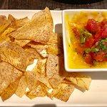 Ahi Tuna Poki with Taro Chips