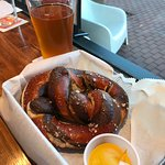 Best soft pretzels we've ever had....fresh from the oven