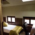Single room with overhead skylight windows