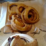 Small rings and 2 RB sandwiches. Yummilicious!