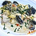 Seafood Pasta, superb