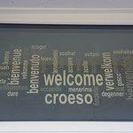 Everyone is welcome at Bod Gwynedd.