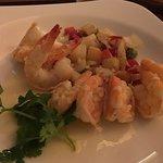 Tasty lime shrimp