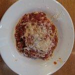 My third helping of lasagna