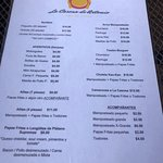 Rico toston burger y carne frita