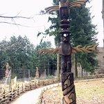 un totem dans le parc