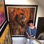 vibrant Nigerian art