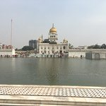 Beautiful and serene scenery along with the holy sarovar