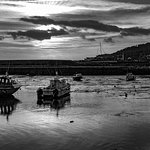 Lyme Regis Cobb - low tide
