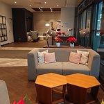 Reception / Bar sofa and entrance area