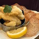 Tempura fish and chips