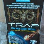 TRAP Team Race Against Puzzles fényképe