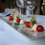 Confit Tomatos, Mozzarella & Basil