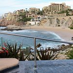 Sirena Del Mar view of beach from pool