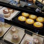 Dessert and food displays