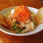 Grilled Chicken Sesame salad served at Cafe Tu Tu Tango in Orange, CA