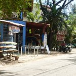 """the nice surf shop just out the """"back door"""" - for rentals and/or lessons"""
