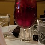 Deliciously dry Sangria, made in-house
