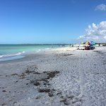 Take a walk on the quiet beach
