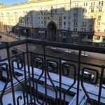 Small Balcony overlooking street