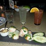 Summer Roll Appetizer w/ Drinks