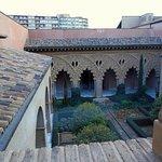 Zaragoza. Palacio de aljaferia,Patio de sta Isabel