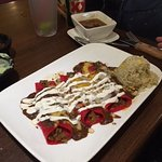 Beef enchiladas with rice & charro beans, Aguirre's Tex-Mex, Tomball, TX