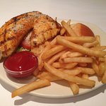 The broiled fish sandwich - $10